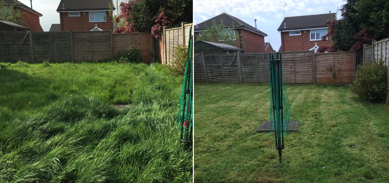 Overgrown grass no problem